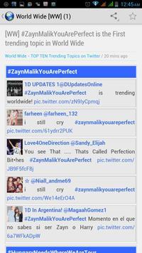 TOP Country Trending Topics apk screenshot