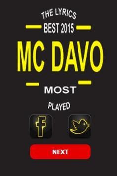 Mc Davo Top Letras poster