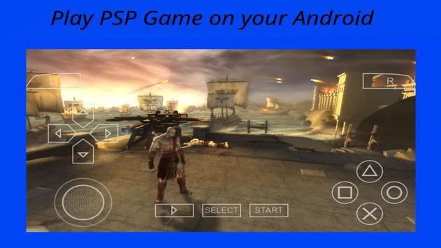 psp HD - ppsspp emulator apk screenshot