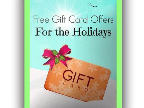 Get Free Gifts Cards poster