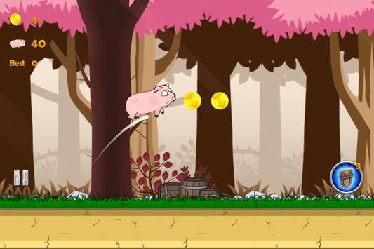 Pinky Run Adventure screenshot 2