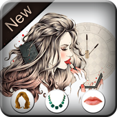 Girl Photo Editor - Hairstyle for woman icon