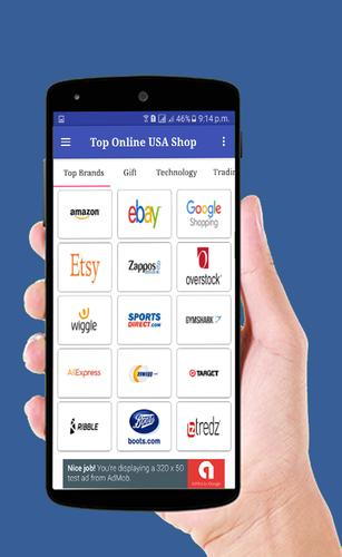 Usa online shops all shopping sites us apk for Best online shops usa