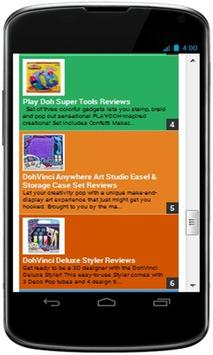 Top Playdoh Reviews apk screenshot