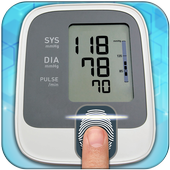 Finger Blood Pressure Checker icon