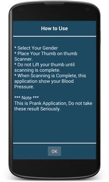 Finger Blood Pressure Prank screenshot 15