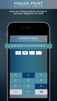 Fingerprint Lock Screen Prank Apk Screenshot