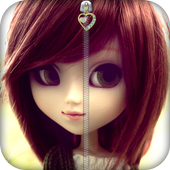 Cute Doll Lock Screen icon