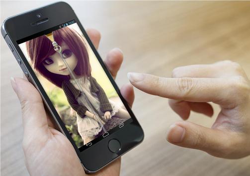 Cute Doll Lock Screen screenshot 1