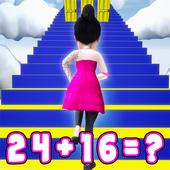 Mental Math Endless Runner Game icon