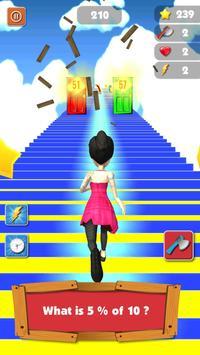 Mental Math Endless Runner Game screenshot 23