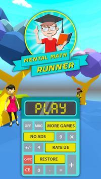Mental Math Endless Runner Game screenshot 3