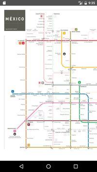 Mexico Metro Map 2017 screenshot 1