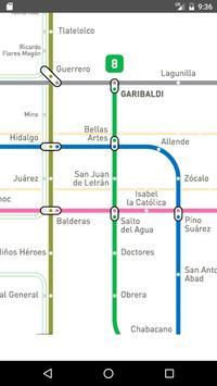Mexico Metro Map 2017 screenshot 2