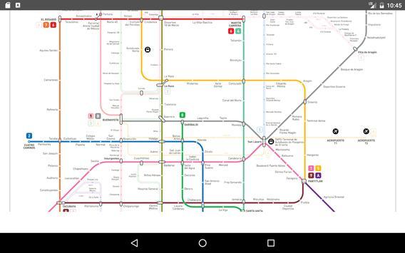 Mexico Metro Map 2017 screenshot 4