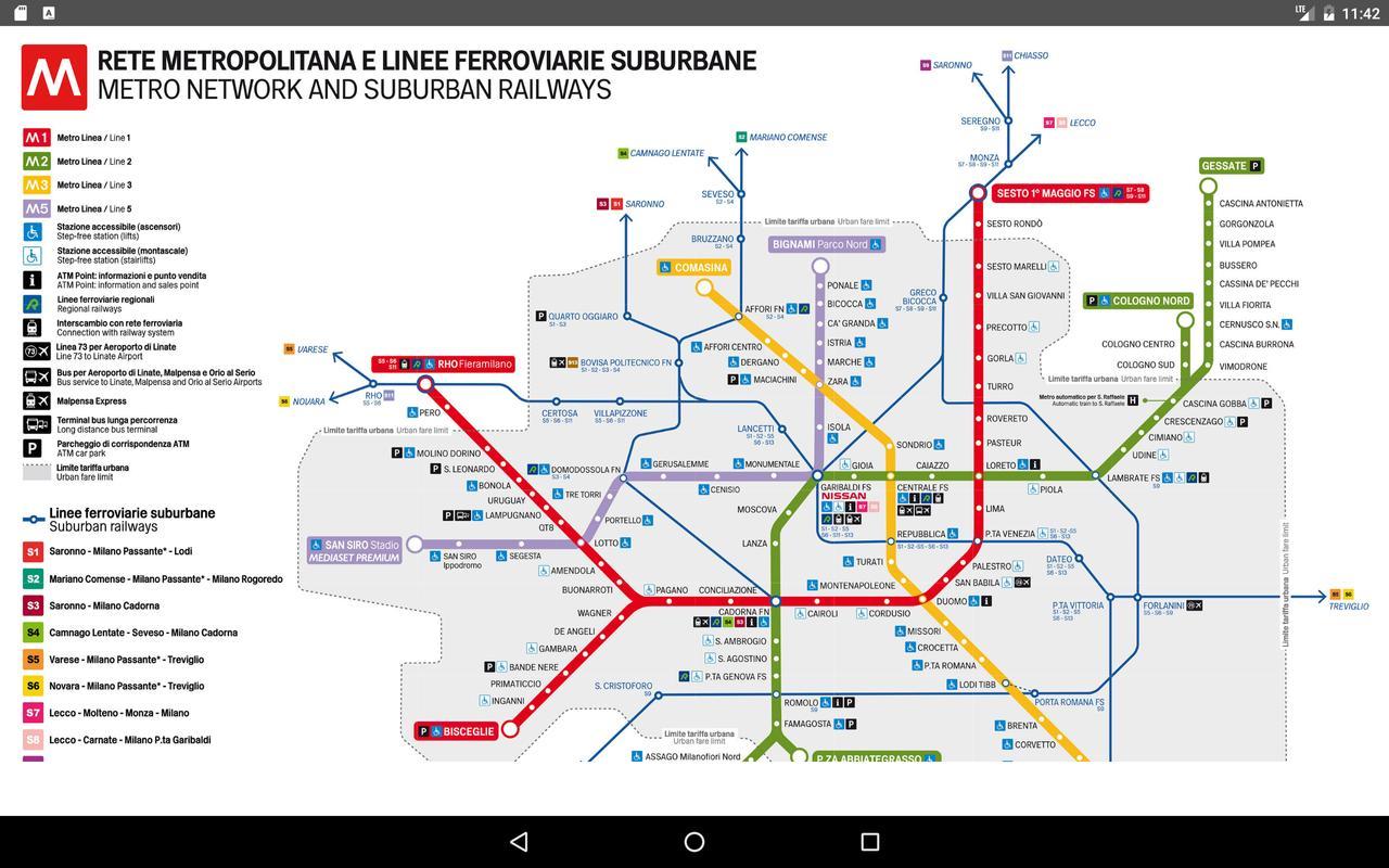 Milan Metro Map 2017 For Android Apk Download