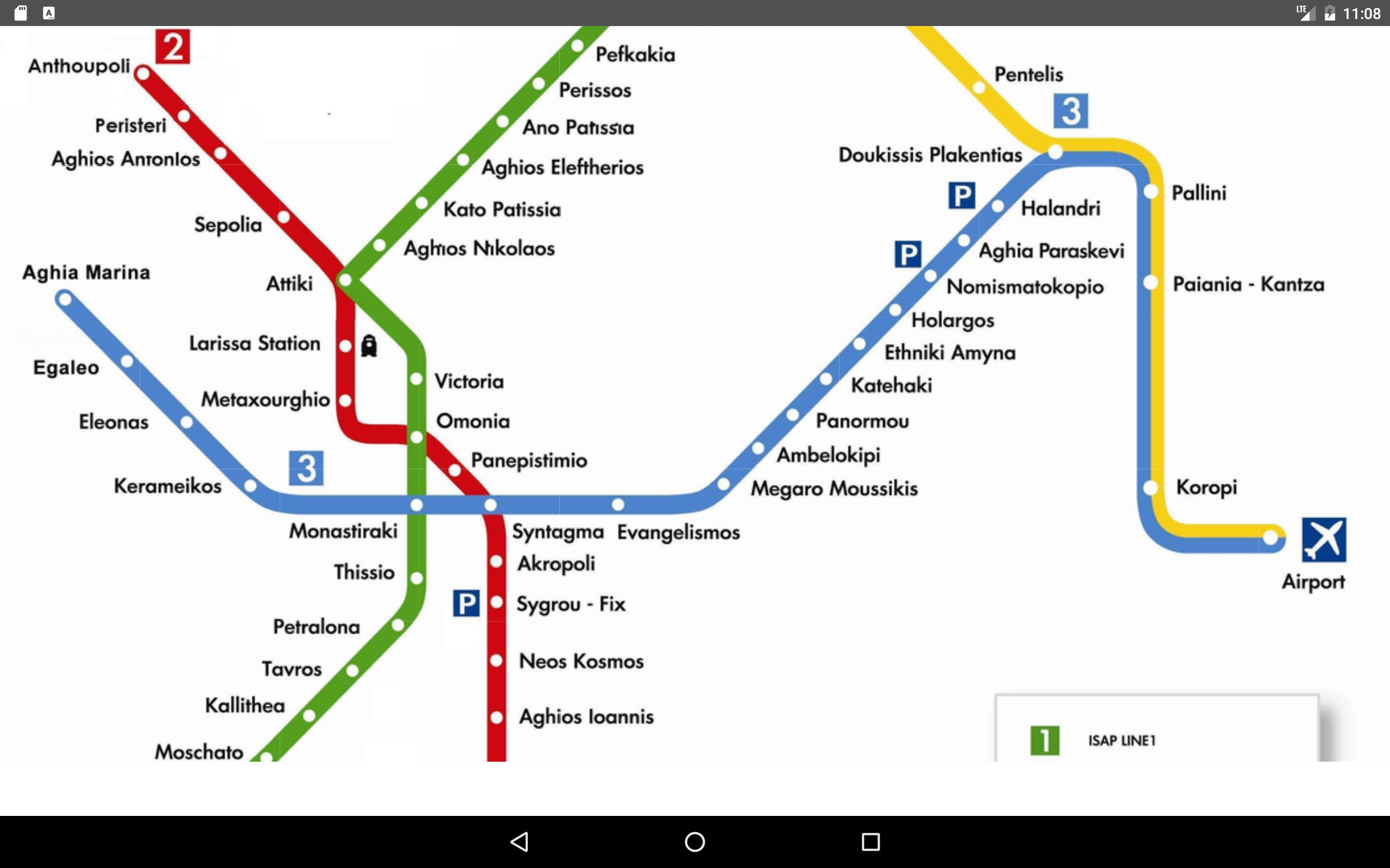 Athens Metro Map 2017 For Android Apk Download