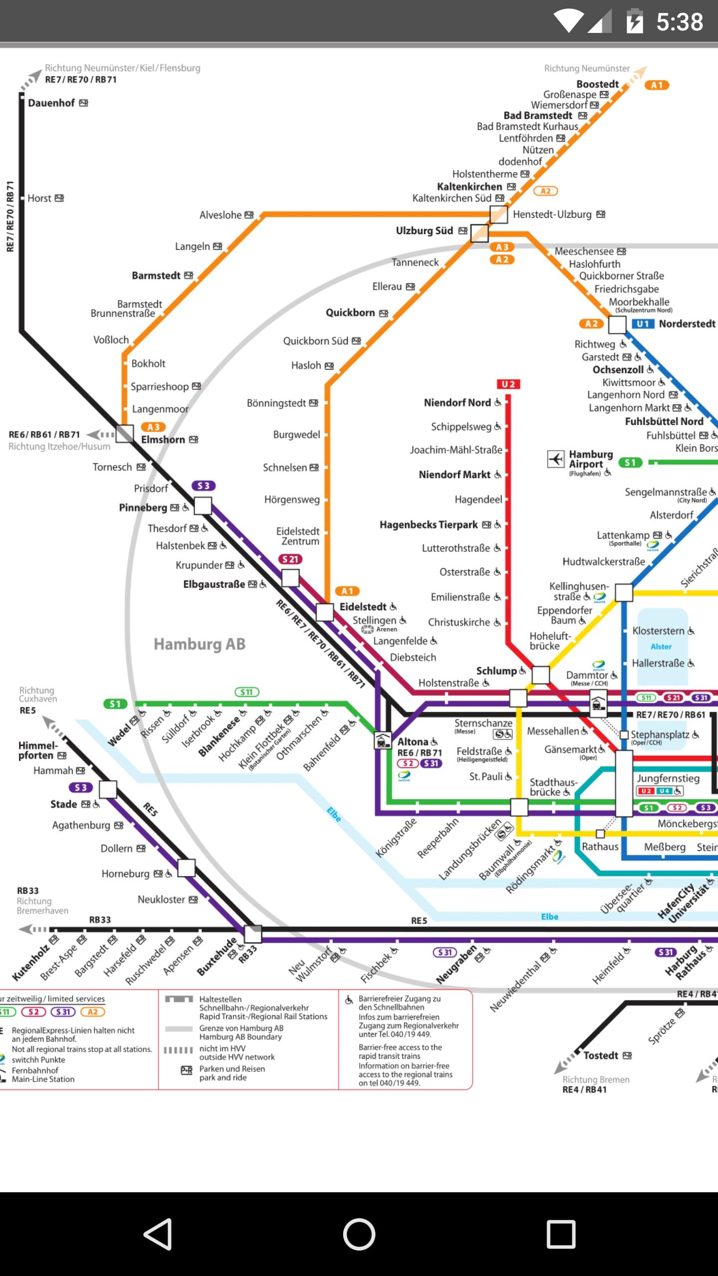 Hamburg Metro Map 2017 For Android Apk Download