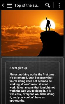 On top of success apk screenshot