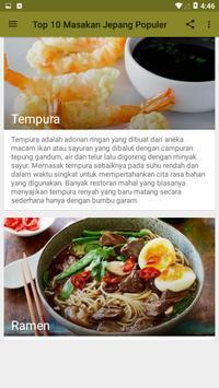 Top 10 Masakan Jepang Terpopuler screenshot 2