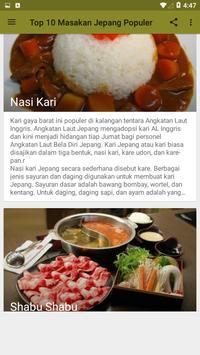Top 10 Masakan Jepang Terpopuler screenshot 5