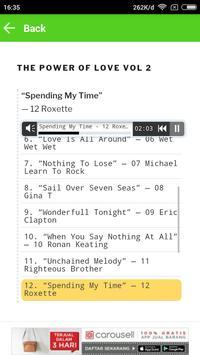 Top 100 Love Songs apk screenshot
