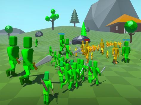 Doodle Fight Battle Simulator apk screenshot