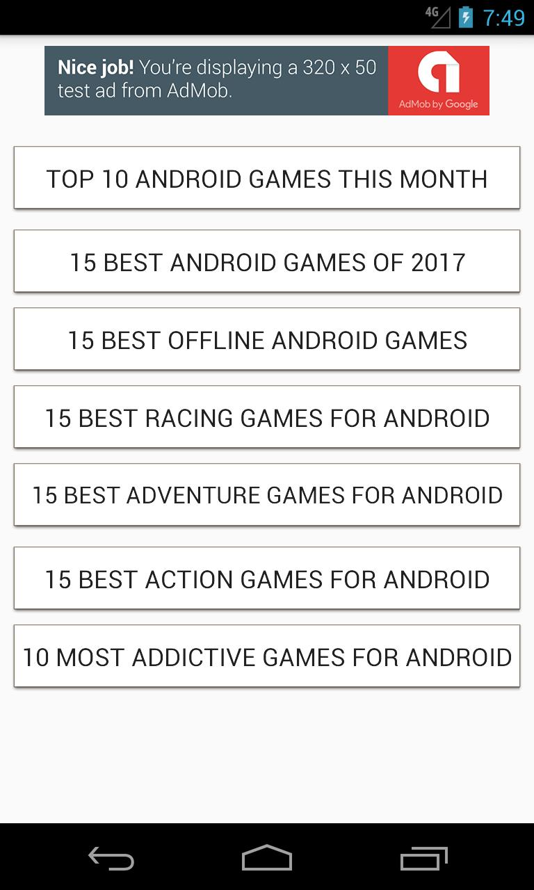 Top 10 Android Games - New Games List for Android - APK Download