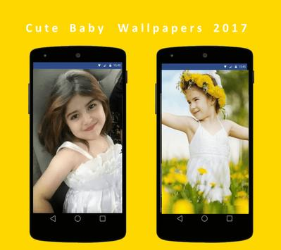 Cute Baby Wallpapers hd 2017 poster