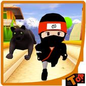Subway Ninja Run Fast icon