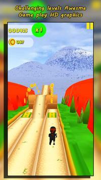 Subway Ninja Run Fast screenshot 6