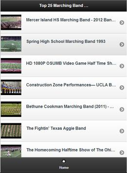 Top 25 Marching Band Videos poster