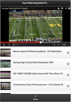 Top 25 Marching Band Videos screenshot 1