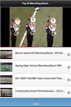 Top 25 Marching Band Videos screenshot 2