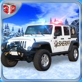 Offroad Police Jeep Simulator icon