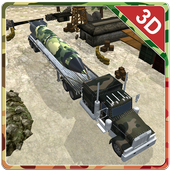 Army Weapon Cargo Truck icon