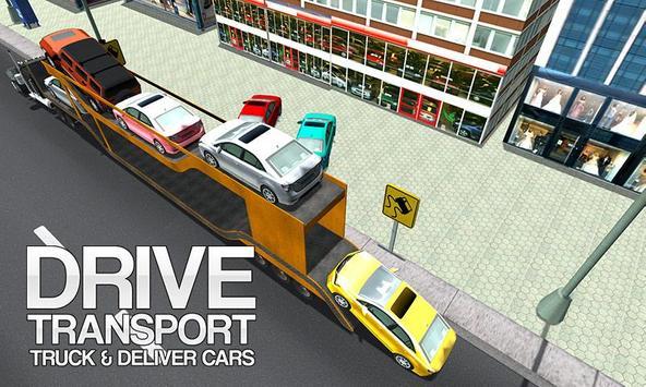 Mega Car Transporter Truck poster