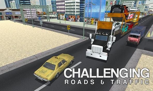 Mega Car Transporter Truck apk screenshot