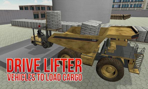 Construction Truck Simulator poster
