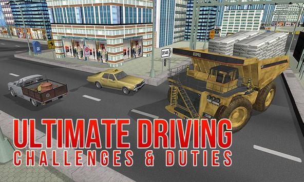 Construction Truck Simulator apk screenshot