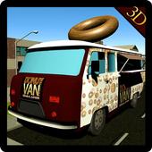 Donut Van Delivery Simulator icon