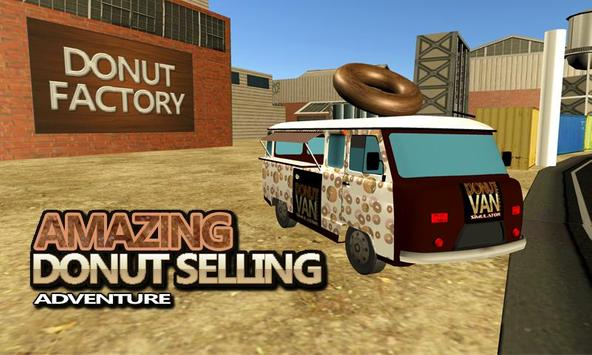 Donut Van Delivery Simulator poster