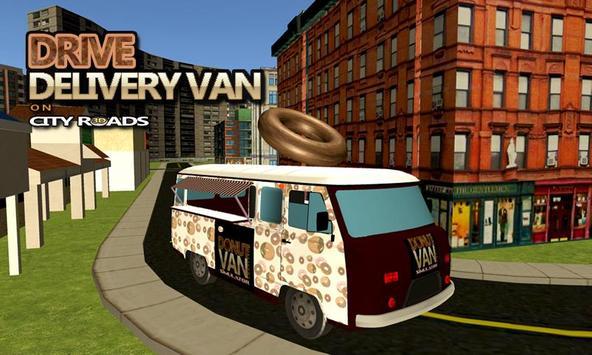 Donut Van Delivery Simulator screenshot 1