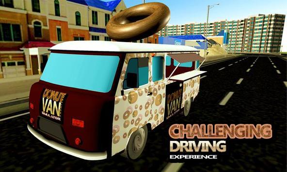 Donut Van Delivery Simulator screenshot 2