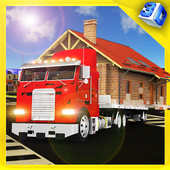 House Mover City Construction icon
