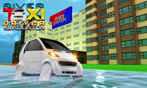 River Taxi Driver Simulator poster
