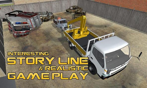 Tow Truck Driver Simulator apk screenshot