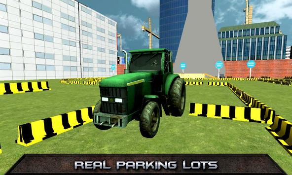 Tractor Parking Simulator 2017 poster
