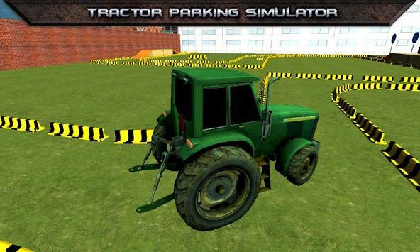 Tractor Parking Simulator 2017 screenshot 1