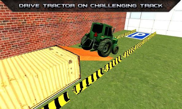 Tractor Parking Simulator 2017 screenshot 2